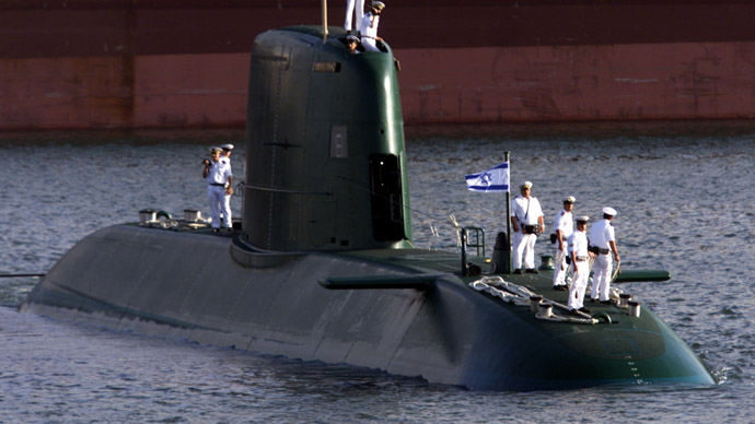 Israel gets fifth 'nuclear-capable' sub