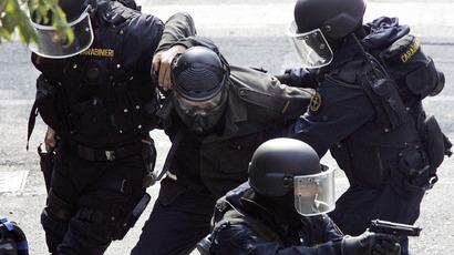 Italian special police forces (AFP Photo / Daniel Del Zennaro)