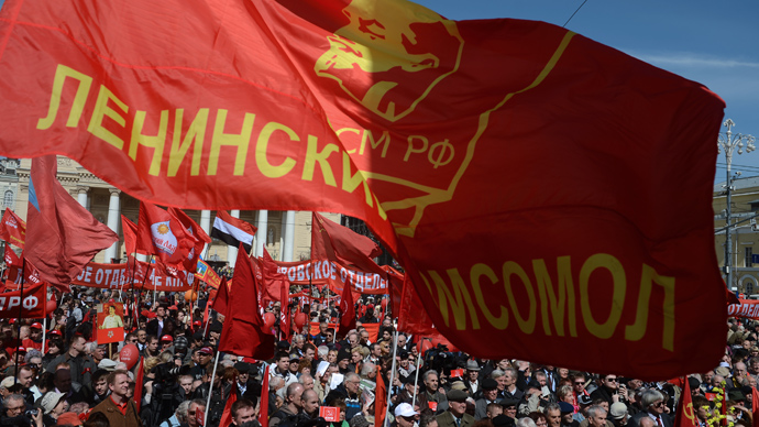 Russian Labor Day: Rallies, ridicule and revelry as tens of thousands take part