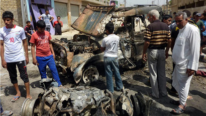 76 killed in and outside Baghdad in a string of bombings