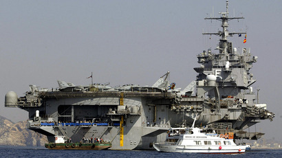 The USS Enterprise (AFP Photo / Jose Jordan)