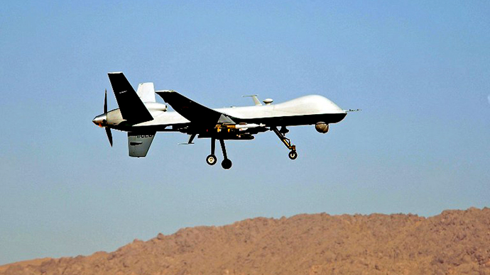 UK operates first drone strike from own territory