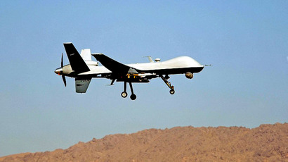 An Air Force MQ-9 Reaper. (AFP Photo / Sgt. James L. Harper Jr.)