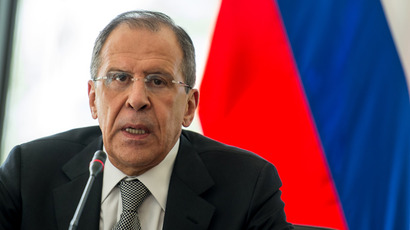 Sergey Lavrov (AFP Photo / Jure Makovec)