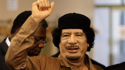 Muammar Gaddafi.(AFP Photo / Rick Gershon)