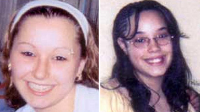 These two photographs obtained May 6, 2013 courtesy of the FBI show Amanda Berry (L) and Georgina DeJesus (R), both who went missing as teenagers about a decade ago and were found alive May 6, 2013 in a residential area of Cleveland, Ohio, not far from where they were last seen (AFP Photo / FBI)
