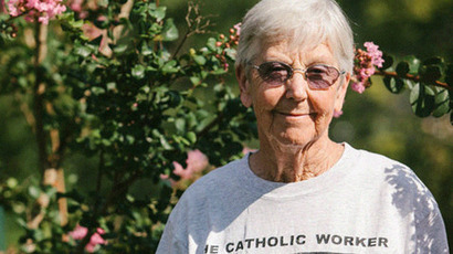 Elderly nun to await  sentencing for nuclear protest in jail