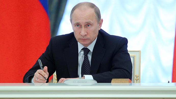 President Vladimir Putin. (RIA Novosti / Mikhail Klimentyev)