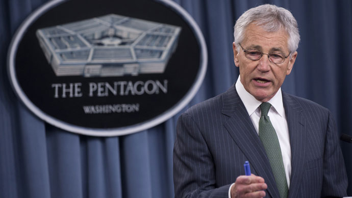 US Defense Secretary Chuck Hagel.(AFP Photo / Saul Loeb)
