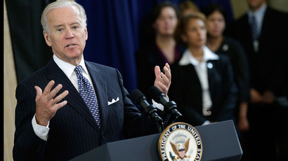 U.S. Vice President Joe Biden.(AFP Photo /Win McNamee)