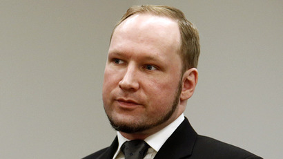 Norwegian mass killer Anders Behring Breivik (Reuters/Heiko Junge/NTB Scanpix/Pool)