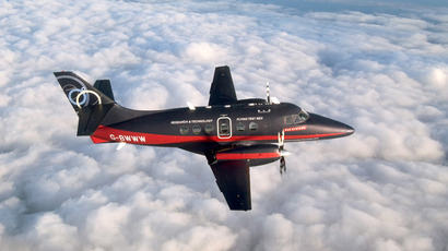 Jetstream 31 - The Flying Testbed (Image from baesystems.com)