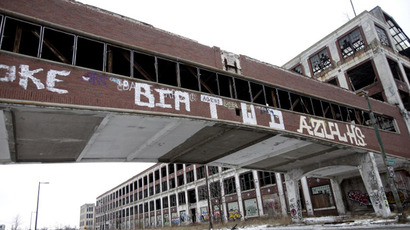Judge orders halt on Detroit bankruptcy filing