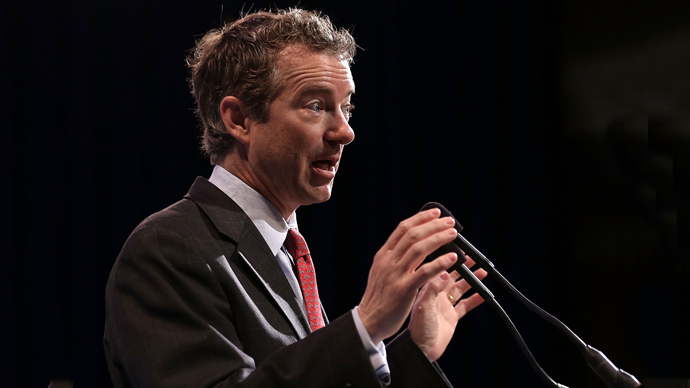 U.S. Senator Rand Paul (R-KY). (AFP Photo / Alex Wong)