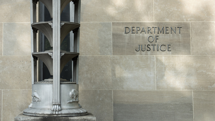 A view of the Department of Justice headquarters. (AFP Photo / Brendan Smialowski)