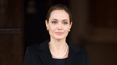 US actress and humanitarian campaigner Angelina Jolie (AFP Photo/Leon Neal)
