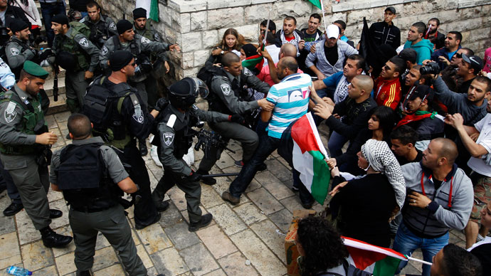 Clashes as thousands of Palestinians mark 65 years since displacement