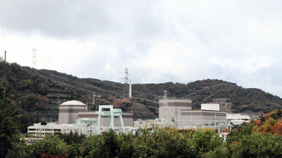 Japan Atomic Power Company's Tsuruga nuclear power plant in Fukui prefecture, western Japan.(AFP Photo / Jiji Press Japan Out)