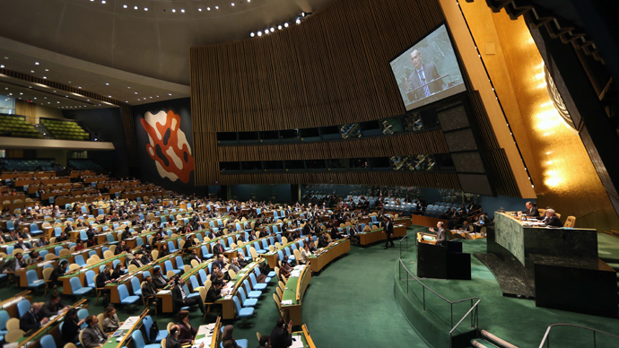 'Counterproductive': UN General Assembly votes to condemn Assad's forces in Syria war