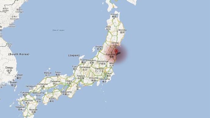 Fukushima Japan  city pictures gallery : earthquake strikes Japan off Fukushima coast — RT News