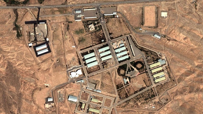 Parchin: Iranian military complex, located about 30 kilometres (19 mi) southeast of Tehran (Image from Google Maps)
