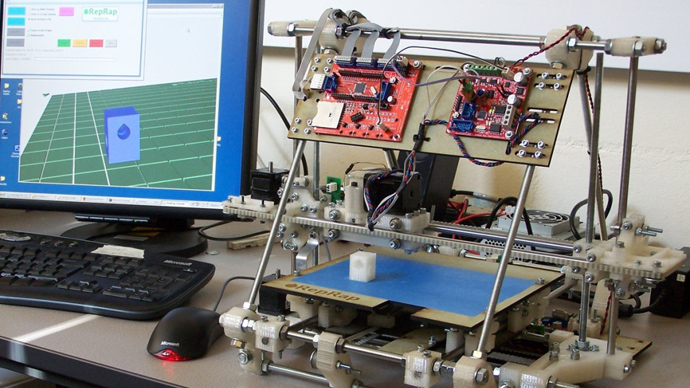 SMRC's prototype 3D food printer will be based on open-source hardware from the RepRap project.RepRap
