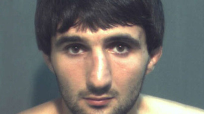 "The picture of the alleged suspect, Ibragim Todashev, was taken from Mugshots.com, which collected the ""Official Record"" from a Law Enforcement agency on 5.04.2013."