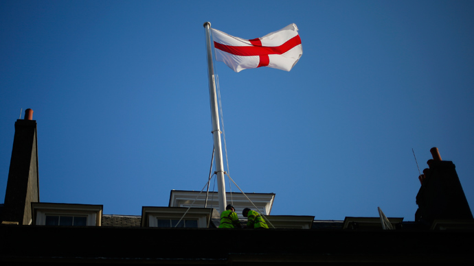 'Error of judgment': English town rules non-offensive, reinstates flag of St George