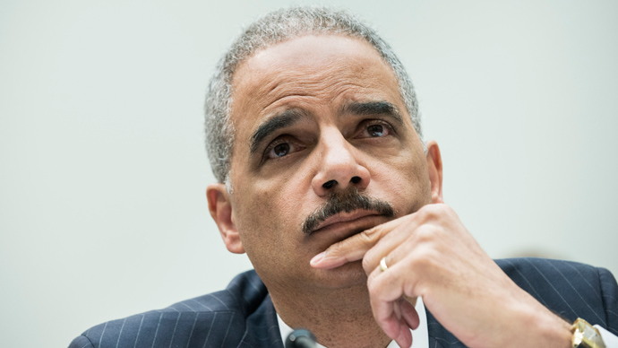 US Attorney General Eric H. Holder (AFP Photo / Brendan Smialowsky)
