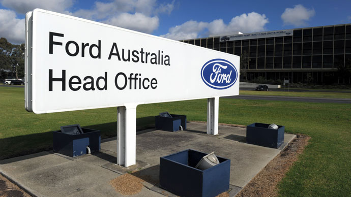 Ford to shut down Australian production by 2016
