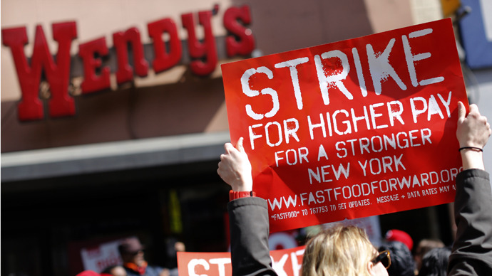 New York Wages For Fast Food