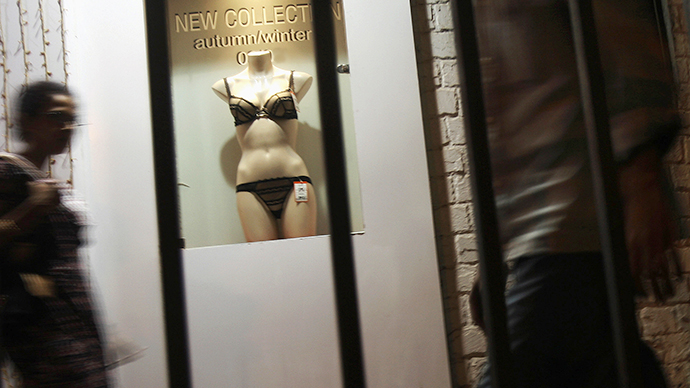 'No dummies tummies!' Indian mannequins covering up to cut sex crimes