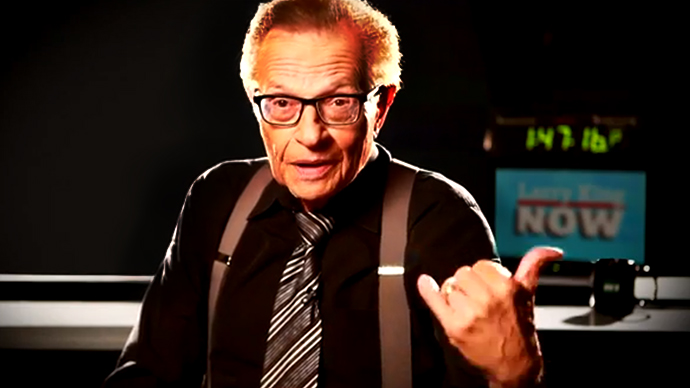RT America to broadcast Larry King's new political show
