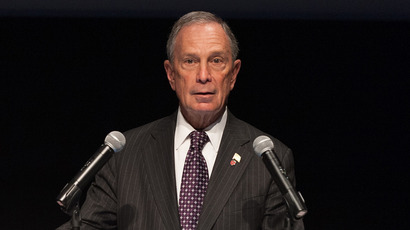 New York City mayor Michael R. Bloomberg (D Dipasupil / Getty Images / AFP)