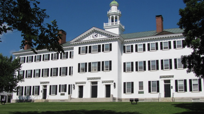 Dartmouth students punished for protesting rape