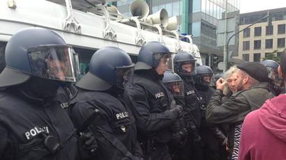 Thousands of 'Blockupy' protesters in Frankfurt decry austerity, police brutality (PHOTOS)