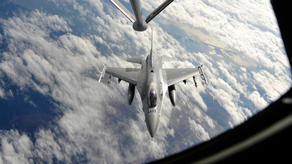 A F-16 fighter jet (Reuters / U.S. Air Force / Master Sgt. Shane A Cuomo / Handout)