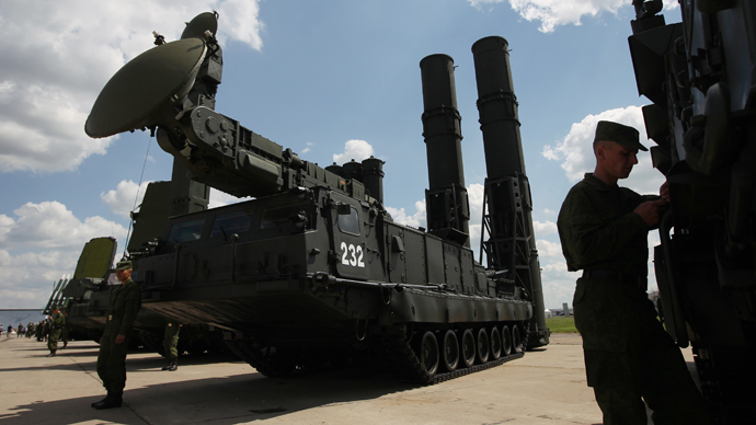 S-300 surface-to-air missile system (RIA Novosti / Valeriy Melnikov)