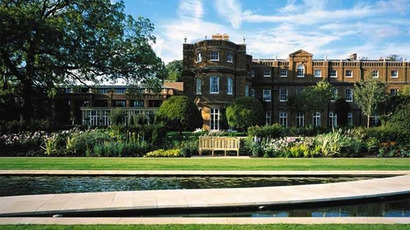 Grove Hotel near Watford.(Photo from thegrove.co.uk)