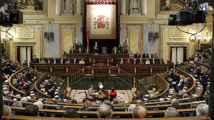 Booze blues: Spanish MPs under fire for Parliament's publicly subsidized meals and drinks