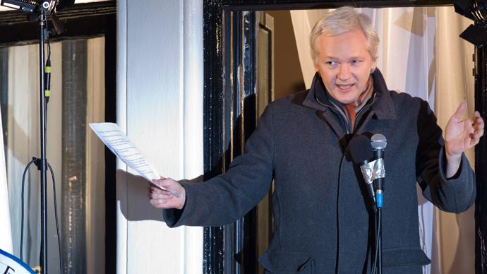 Wikileaks founder Julian Assange (AFP Photo / Leon Neal)