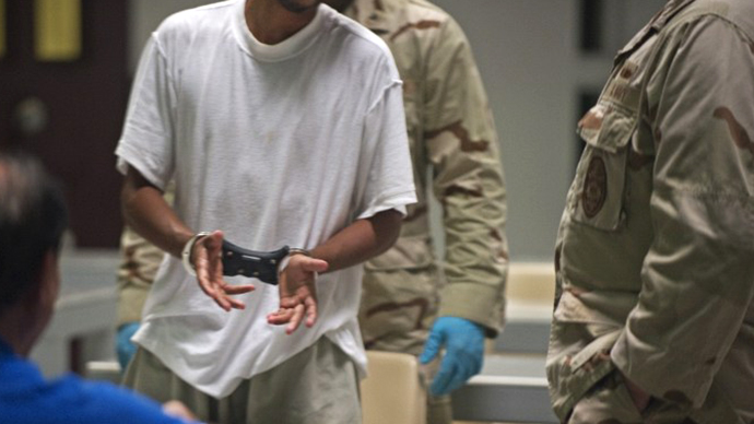 One-quarter of Gitmo prisoners now being force-fed