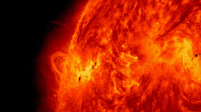 World's largest solar telescope captures HD images of sunspots (VIDEO)