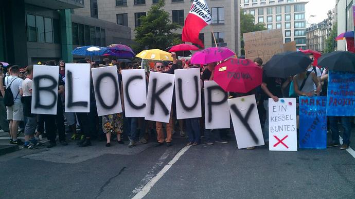 'Blockupy' protest hits Frankfurt: LIVE UPDATES
