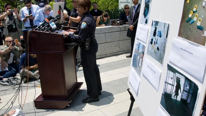Premeditated massacre: Police showcase Santa Monica gunman arsenal (PHOTOS)