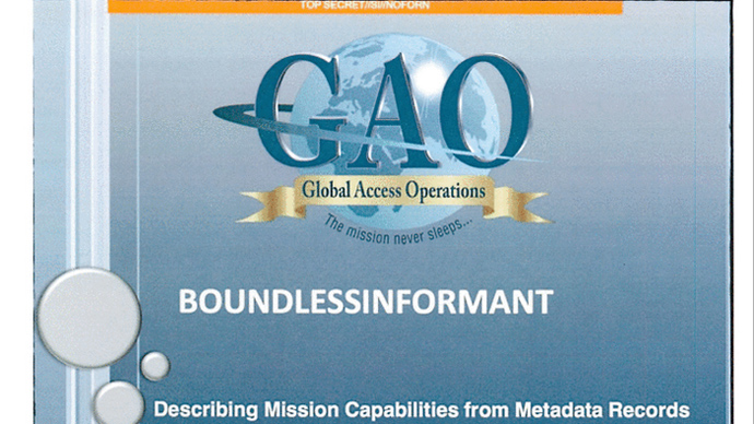 Boundless Informant: NSA's complex tool for classifying global intelligence
