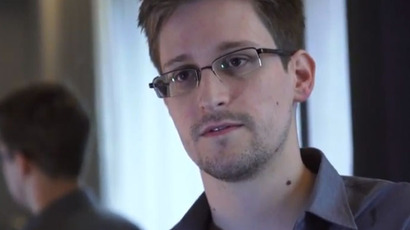 Edward Snowden (snapshot from the interview wit the Guardian)