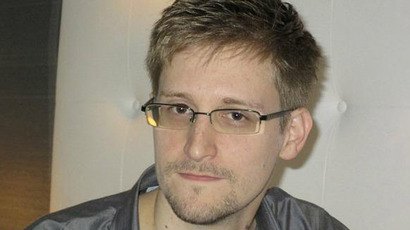 US National Security Agency whistleblower Edward Snowden is pictured during an interview with the Guardian in his hotel room in Hong Kong Sunday. The 29-year-old NSA contractor revealed top secret U.S. surveillance programs. (Reuters/Ewen MacAskill)