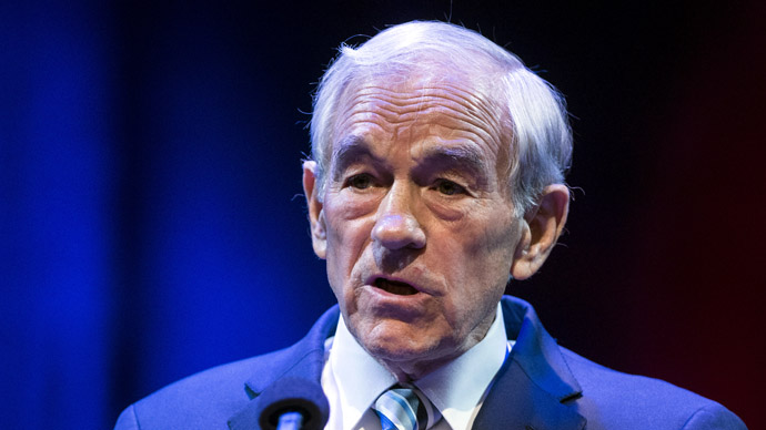 Former US Representative Ron Paul (R-TX) (AFP Photo)