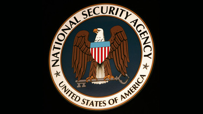 The logo of the National Security Agency (NSA) (AFP Photo)